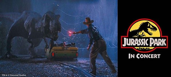 Jurassic Park in concert - ekstrakoncert