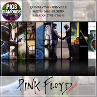 Pink Floyd in concert by Pigs &amp Diamonds