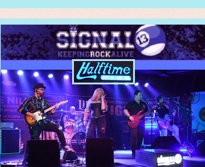 Signal 13 Returns to Rock Halftime in Newark DE