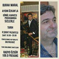 Burak MARAL Radyo ZGRde ( 108.0 frekans)
