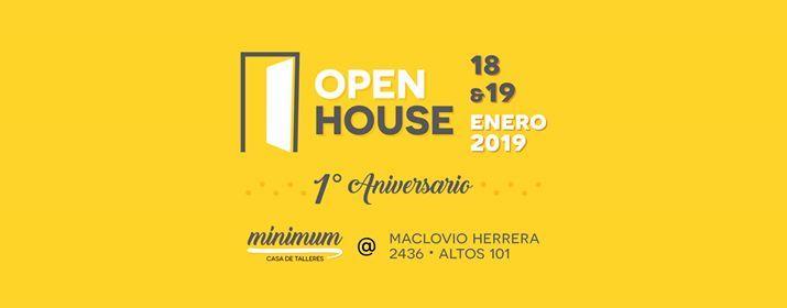 Open House  1er Aniversario