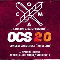 COMA - Lansare &quotOrizont&quot  OCS &quot20 de ani&quot - 26.05