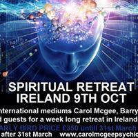 Spiritual retreat Ireland Dublin 9th Oct