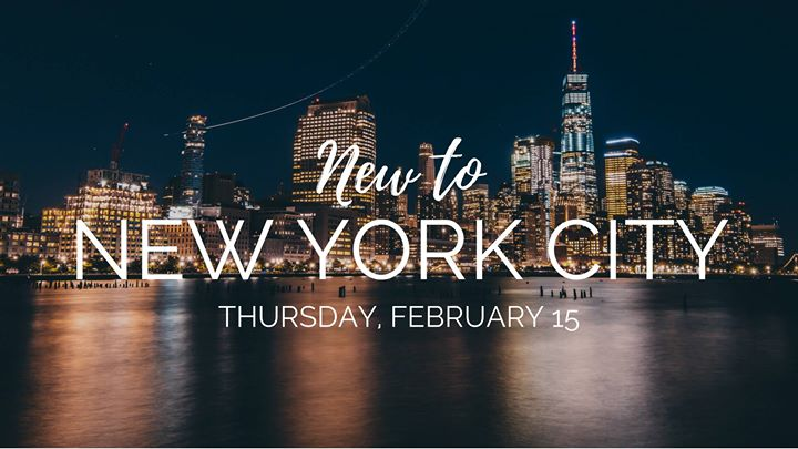 New to NYC Meetup