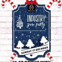 Industry Christmas Snow Party