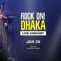 ROCK ON Dhaka 2018