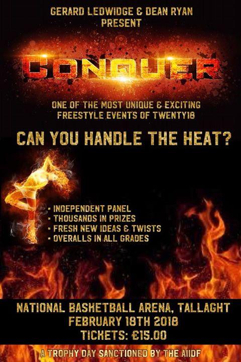 CONQUER by Gerard Ledwidge & Dean Ryan