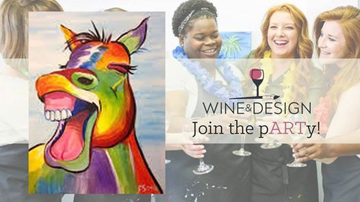 Paint Sip Laughing Horse At Wine Design Southern Pines Nc220