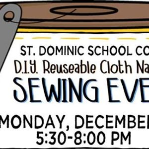DIY Reuseable Cloth Napkin Sewing Event