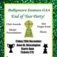 Ballymore GAA End of Year Party