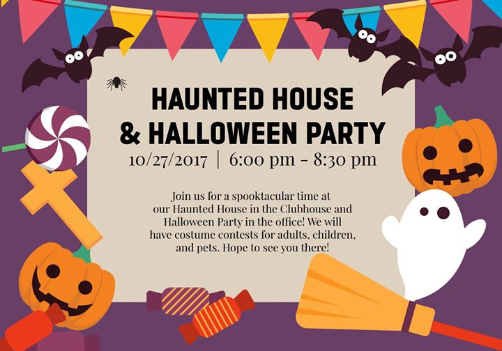 Haunted House & Halloween Party at Plaza DeVille Apartments, San ...