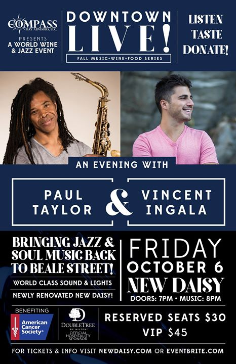 An Evening with Paul Taylor & Vincent Ingala Live in Memphis