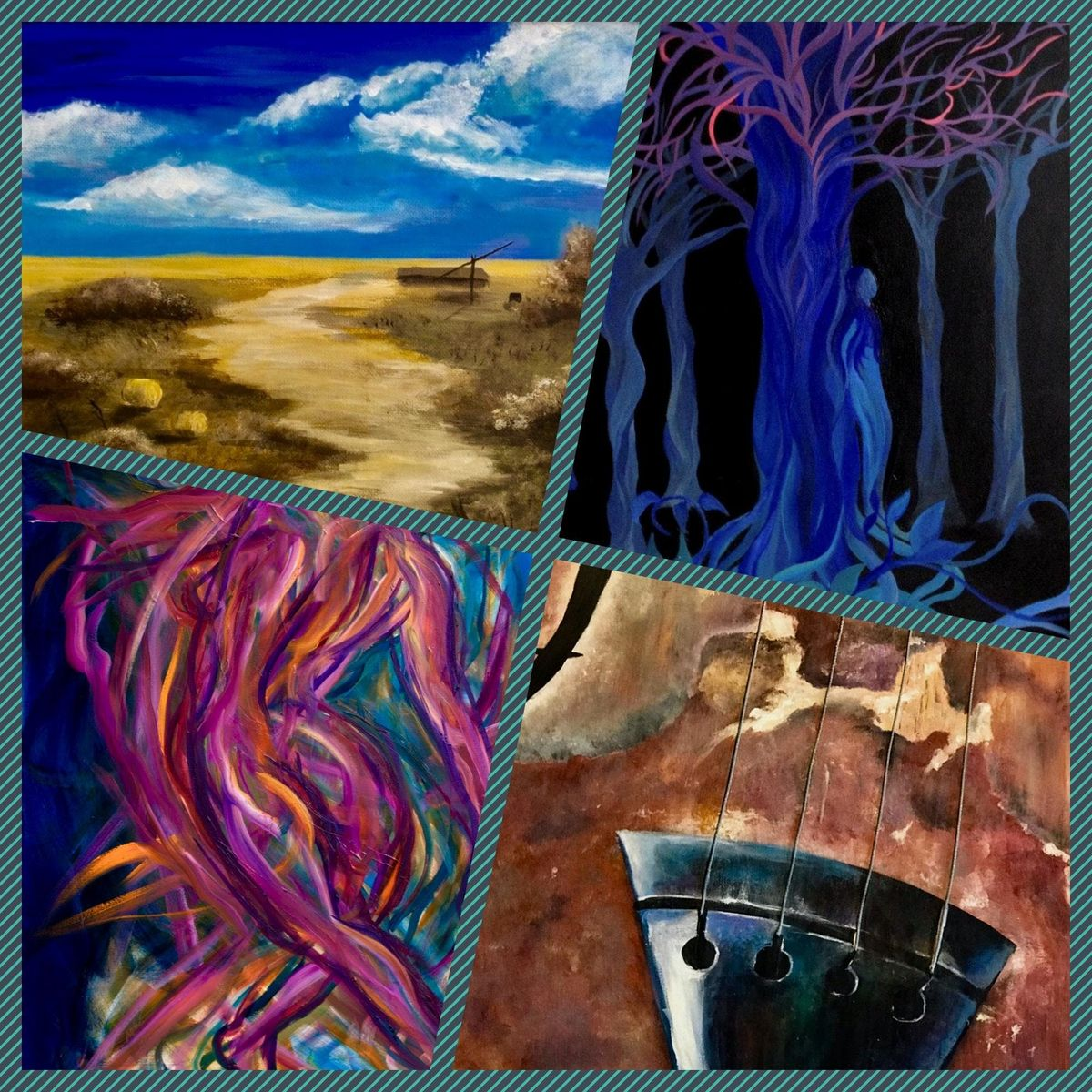 Waves Landscapes and Rhythms - Art Exhibition