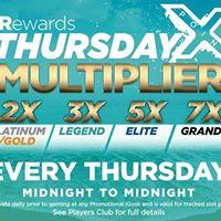 Thursday Multiplier