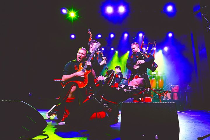 Red Hot Chilli Pipers at Millennium Forum Derry