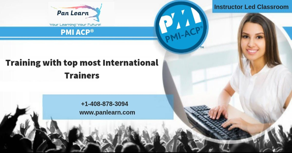 PMI-ACP (PMI Agile Certified Practitioner) Classroom Training In Columbia SC