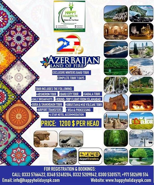7 Days Baku Azerbaijan Exclusive Tour