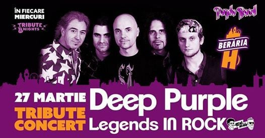 DEEP PURPLE Tribute Show by Purple Band [Italy]