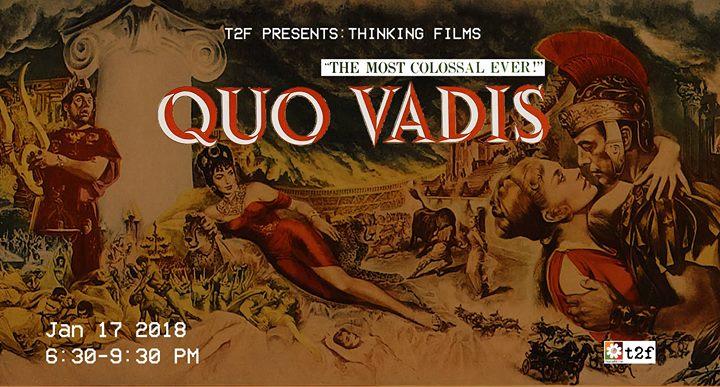 Thinking Films Quo Vadis