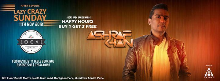 Lazy Crazy Sunday Session - DJ Ashraf