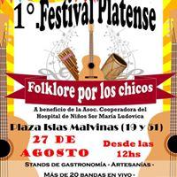 1 Festival &quotFolklore por los Chicos&quot en La Plata