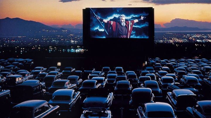 Redwood drive in theatre and swap meet