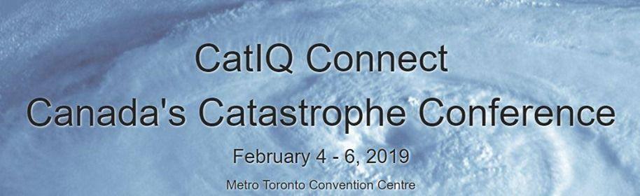 CatIQ Connect Canadas Catastrophe Conference