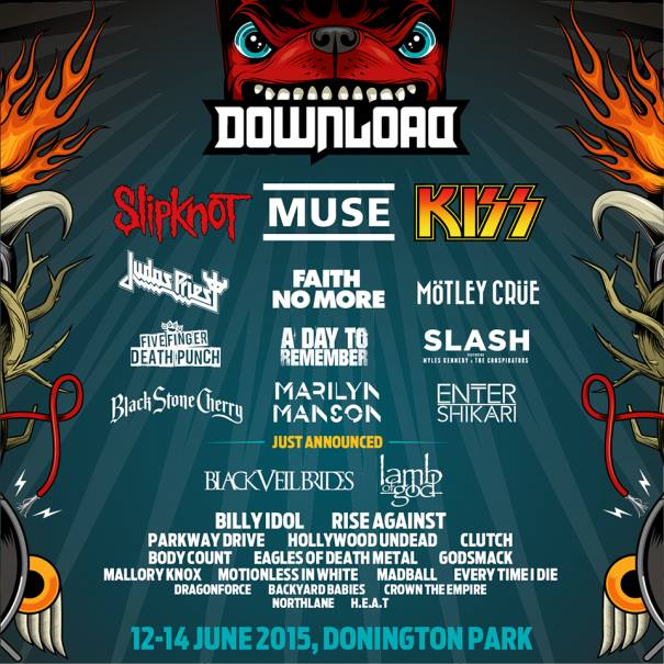 DOWNOLOAD DONNINGTON FESTIVAL 2015 at Download Festival, Castle