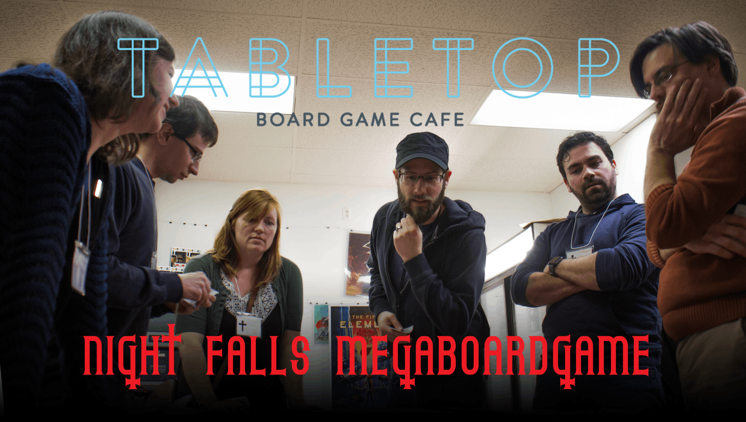 Night Falls Megaboardgame Tabletop Cleveland At Tabletop Board