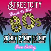 Back to the 80s FREE entry party