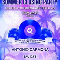Summer Closing Party Torre del Mar