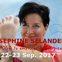 Josephine Selander - Virya yoga workshop