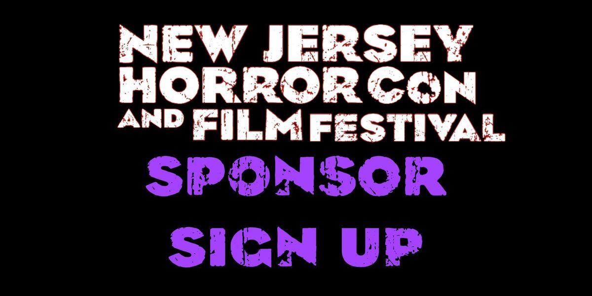 Sponsor NJ Horror Con Spring 2019