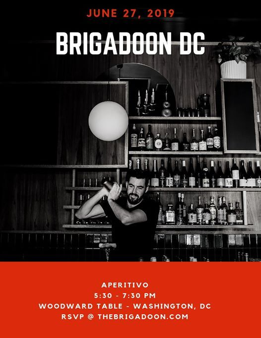 Brigadoon Dc Aperitivo At Woodward Table Washington