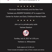 Yankees FUNdraiser With Dr. Gerry Costa &amp MSU CAECMH At YANKEE STADIUM