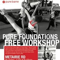 Pure Foundations Free Workshop