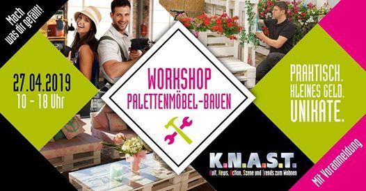 Workshop Palettenmobel Bauen At Knast Mobel