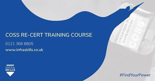 COSS Re-Cert Training Course
