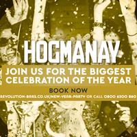 Hogmany at Revolution