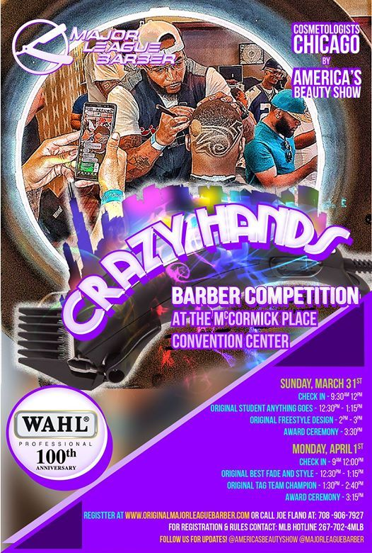 Major League Barber Crazy Hands Barber Competitions