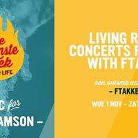 Living room concerts For Life With FTAKKE