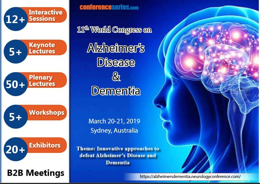 2nd International Conference on Alzheimers Dementia and Related Neurodegenerative Diseases (PGR)
