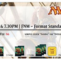 FNM Standard Swiss - Two Time Slots