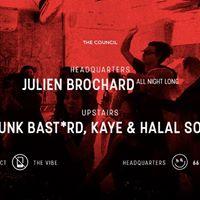 Council Fridays Julien Brochard Funk Bastrd Kaye &amp Halal Sol