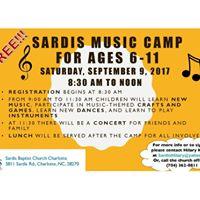Sardis Music Camp