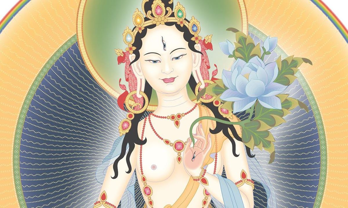 Accomplishing the Deathless State White Tara Empowerment with Gen Kelsang Gomchen