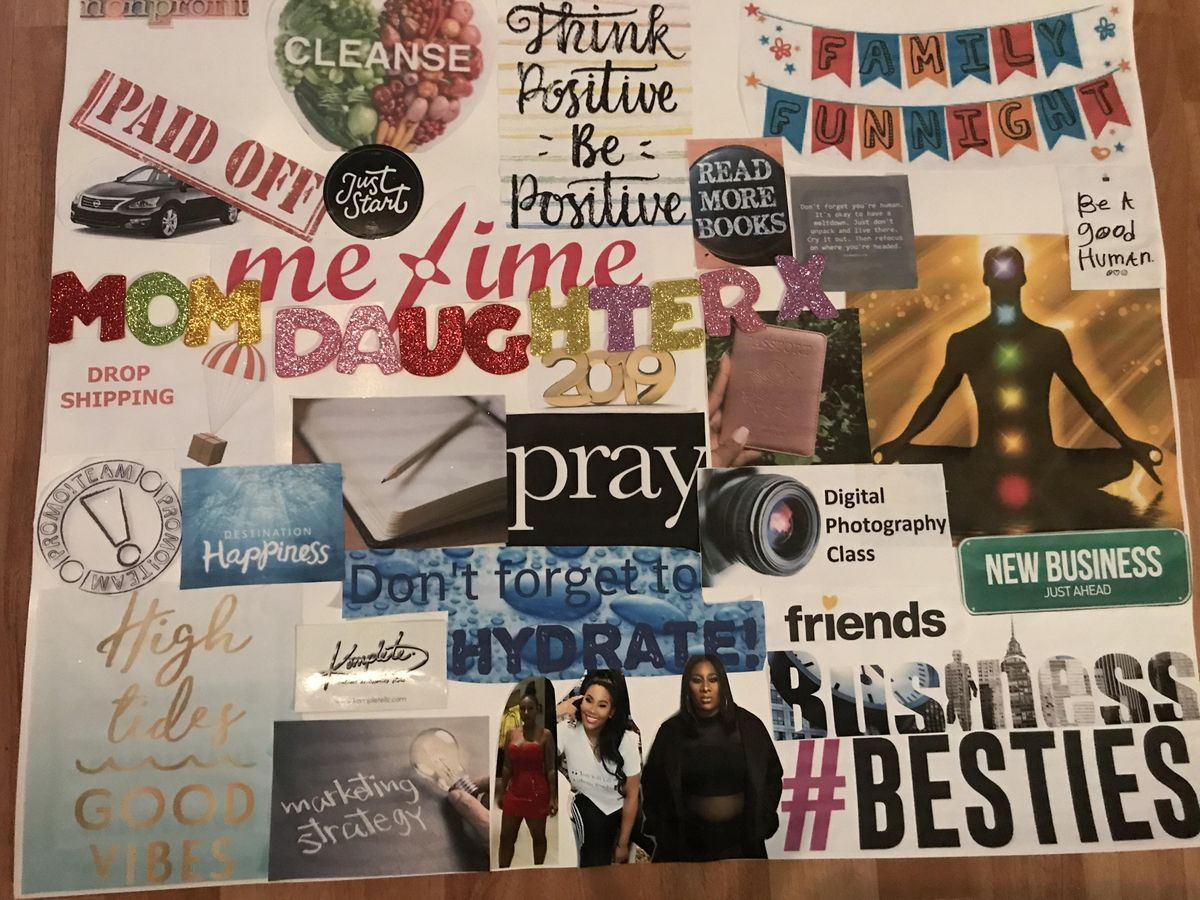 Manifesting Dreams Vision Board Party