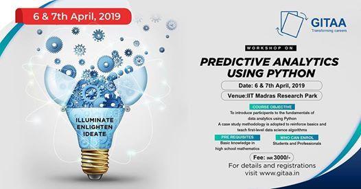 Workshop on predictive analytics using Python