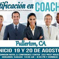 FORMACION Y CERTIFICACION EN COACHING (FULLERTON CA)
