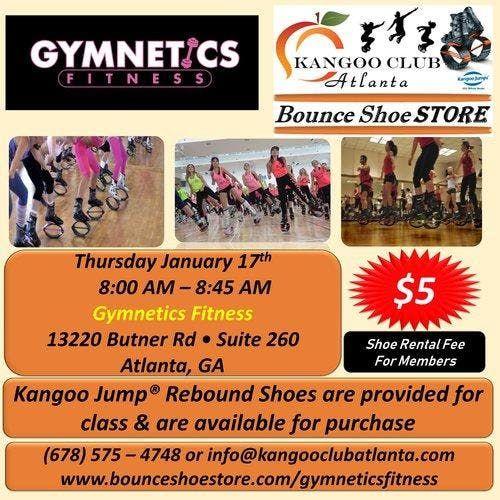 Kangoo Jumps Class in Atlanta